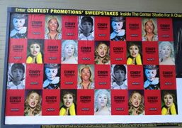 Cindy Sherman at SFMOMA exhibition posters plastered all over the city, San Francisco….