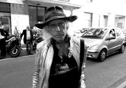 James Goldstein on the street during Milan Fashion Week, Milan. Photo Marta…