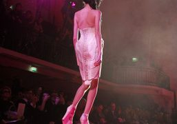 Jean Paul Gaultier S/S 2012 Couture show, a tribute to Amy Winehouse,...
