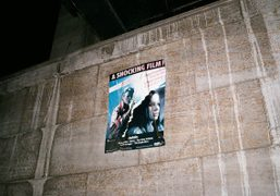 One ofJeremy Shaw's Christiane F posters, Berlin.Photo Maxime Ballesteros