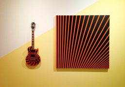 Works from the John Armleder show on view until November 2nd at…