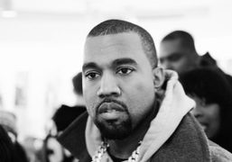 Kanye West at Colette for the launch of Pyrex, the new streetwear…