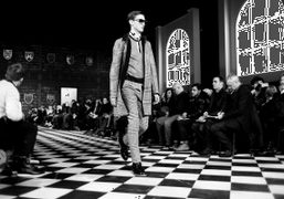 Tommy Hilfiger F/W 2013 Men's Collection at the Park Avenue Armory, New...