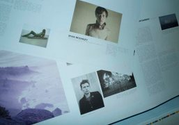The new Purple Fashion magazine #16 at the printer / View of…