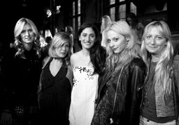 Nicky Hilton, Tara Subkoff, Arden Wohl, Cory Kennedy and Chrissie Miller at the…