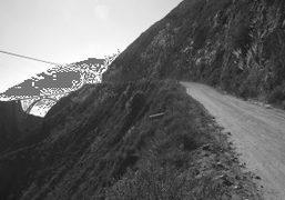 The old pioneer's road to Big Sur (used before the bridge), California.Photo…