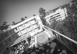 View from my Room at the Standard Hotel-West Hollywood, Los Angeles. Photo…