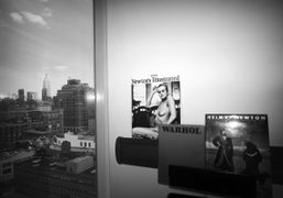 Back in New York at the Standard Hotel, New York. Photo Olivier…