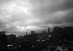 Back in a rainy New York. My favorite view from The Standard…