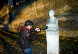 A day in Rome with the artist Miltos Manetas