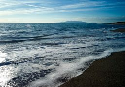 A day at the beach in South Tuscany