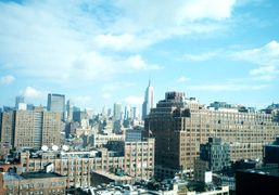 Back in New York, my favorite view from the Standard Hotel. Photo…