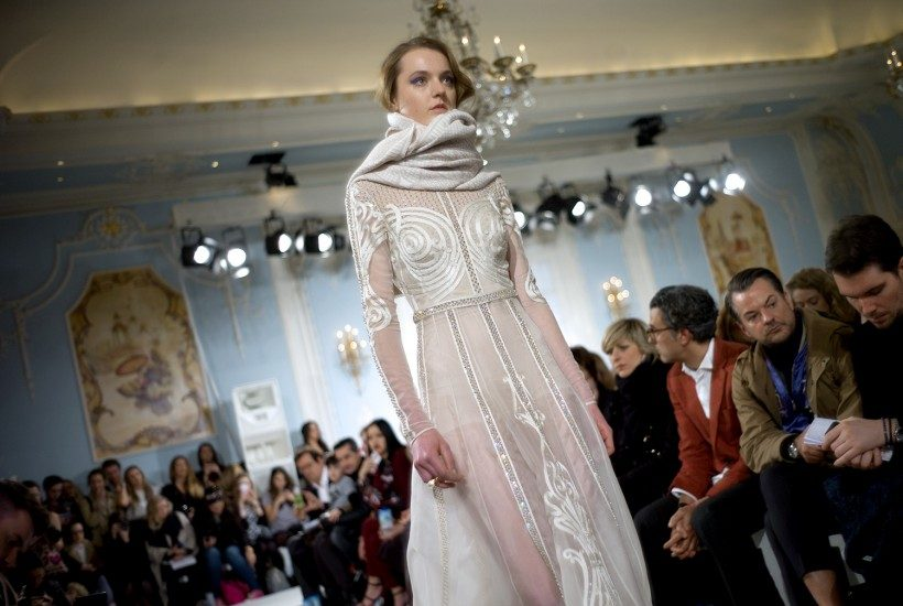One look from Temperley F/W 2014 show, London.