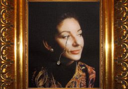 La Traviata (Crying Portrait of Maria Callas with a Pearl Earring) by...