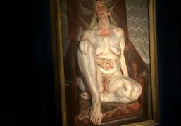 "Lucian Freud ""A not so still life"" private view at Luxembourg and..."