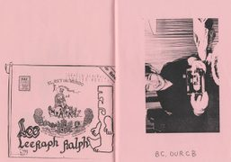 """Extract from """"Non Stop Poetry: The Zines of Mark Gonzales"""" out now!"""