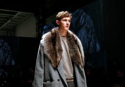 Fendi Men's F/W 2013 show, Milan