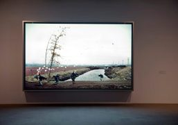 """Jeff Wall """"Photographs"""" at the Art Gallery of Western Australia, Perth"""