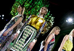 Peter Pilotto, the Womenswear Guest Designer for Pitti W n.10, showing Resort...