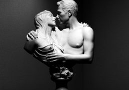 "Jeff Koons ""A Retrospective"" at the Whitney Museum of American Art, New..."