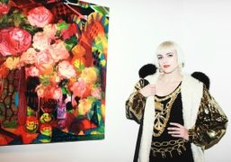 Rosson Crow exhibition opening at Sargent's Daughters, New York