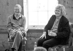 Martin Parr and Grayson Perry in conversation at The Union Club, to…