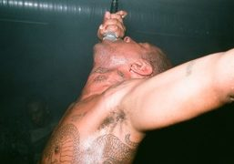Mykki Blanco and Sean Bowie performance for Converse at The Bird, Berlin...