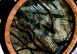 """Iván Navarro """"This Land is Your Land"""" installation at Madison Square Park,..."""