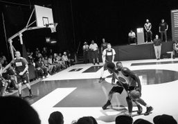 Nike Air Raid by Pigalle presentation and Nike x Pigalle basketball tournament,...