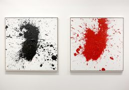 """Otto Muehl exhibition """"Paintings from 1988"""" at Maccarone Gallery, New York"""