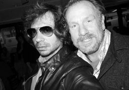 The artist and photographer Jack Pierson and me, at Bar Pitti, New…