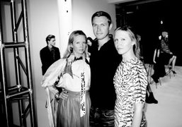 Dawn, Aaron, and Samantha Goldworm from 12.29 who scented the Elder Statesman presentation, New…