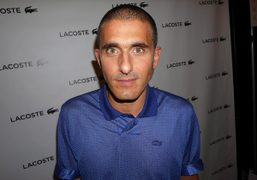 Felipe Oliviera Baptista after his Lacoste S/S 2015 show, New York. Photo…