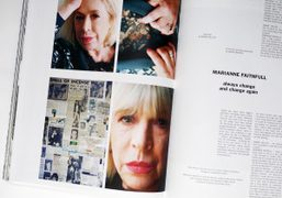 Read our interview with Marianne Faithfull in Purple Fashion #22 out now