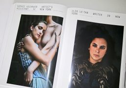 Preview of portraits by Drew Jarrett in Purple Fashion #22 out now