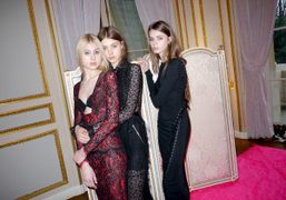 Alessandra Rich F/W 2013 presentation at the Hôtel de Crillon, Paris.