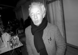 Fashion photographer Gilles Bensimon backstage at the Dior Couture S/S 2014 show…