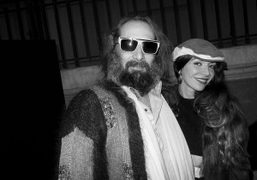 French singer Sébastien Tellier after the Chanel Couture S/S 2014 show at…