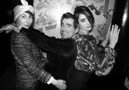 VINCENT DARRÉ'S DINNER HOSTED BY ANDRE SARAIVA AND OLIVIER ZAHM + COLETTE/RICHARDSON...