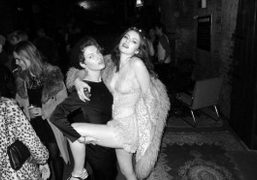 Ben Grimes and Tali Lennox at Tali's 19th Birthday Party, 223 Club,…