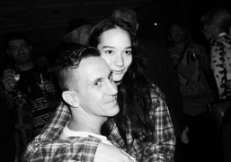 Jeremy Scott's Moschino S/S 2015 after show dinner (Part II) at Ristorante...