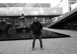 Terry Richardson outside the Lincoln Centre, New York. Photo Olivier Zahm