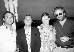 ASMALLWORLD Relaunch Weekend cocktail at the Royal Suite at the Taj Palace,...