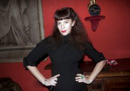 Olympia Le-Tan at the presentation of her capsule collection as Guest Designer…