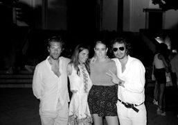 Dinner with Aaron Young, Laure Dubreuil, Natacha Ramsay-Levi and me, in Ravello,…