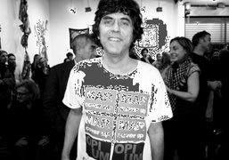 """Rainer Ganahl """"Comme Des Marxists"""" Exhibition Opening at White Columns, New York"""