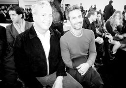 Robert Duffy and Marc Jacobs at the Marc by Marc Jacobs New York Fashion Week F/W 2014,…