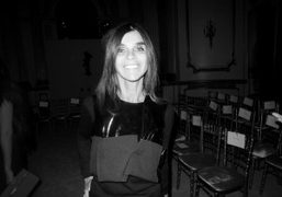Carine Roitfeld at the Tom Ford F/W 2013 at Lancaster House, London….