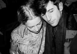 Annabel Dexter-Jones and André Saraiva at the Red Egg, New York. Photo…