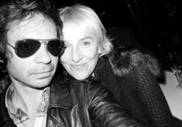 Olivier Zahm and Vanessa Bruno at the re-opening of La Vue, at…